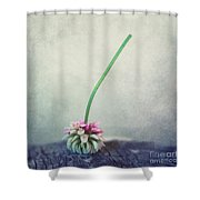 Headstand Shower Curtain