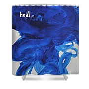 Heal Shower Curtain