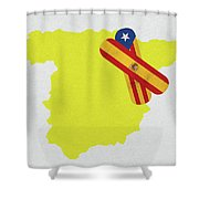 Heal Spain And Catalonia Shower Curtain
