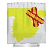 Heal Spain Shower Curtain