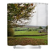 Healaugh, Swaledale Shower Curtain