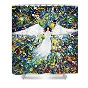 Healing Angel 1 Shower Curtain