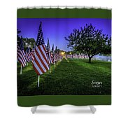 Healing Field  Shower Curtain