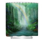 Healing Grotto Shower Curtain