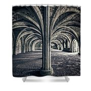 Healing Hands Of Time Shower Curtain
