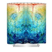 Healing I Shower Curtain