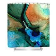 Healing Thoughts Shower Curtain