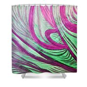 Healing Waves Shower Curtain