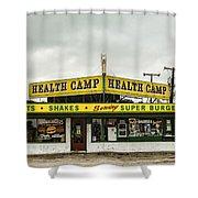Health Camp Shower Curtain