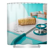 Health Insurance Plans Shower Curtain