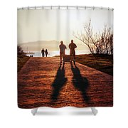 Healthy Lifestyle Shower Curtain