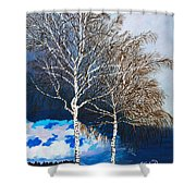 Healthy Trees Shower Curtain