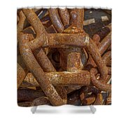 Heaped Chains 03 Shower Curtain