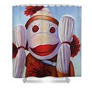 Hear No Bad Stuff  Shower Curtain