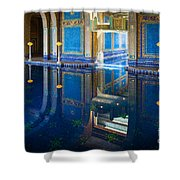 Hearst Pool Shower Curtain