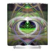 Heart 11 - Yang Shower Curtain
