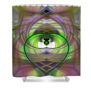 Heart 11 - Yin Shower Curtain