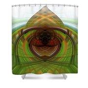 Heart 12 - Yin Shower Curtain