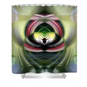 Heart 14 - Yin Shower Curtain