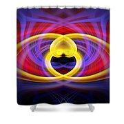 Heart 16 - Yang Shower Curtain