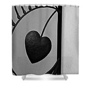 Heart Art Shower Curtain