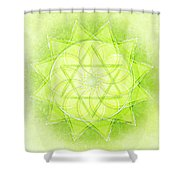 Heart Chakra Series Two Shower Curtain
