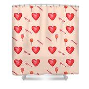 Heart Jp09 Shower Curtain
