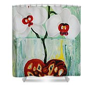 Heart In Bloom Shower Curtain