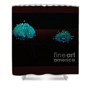 Heart Jelly Shower Curtain