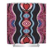 Heart Matters - T J O D 34 Arrangement 1 Shower Curtain
