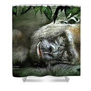 Heart Of A Beast Shower Curtain
