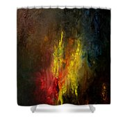 Heart Of Art Shower Curtain