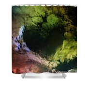Heart Of Clouds Shower Curtain
