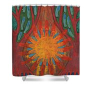 Heart Of Forest Shower Curtain