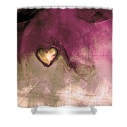 Heart Of Gold Shower Curtain