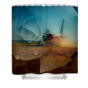 Heart Of The Delta Shower Curtain