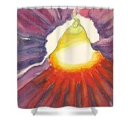 Heart Of The Flower Shower Curtain