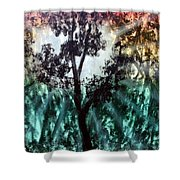 Heart Of The Rain Forest Shower Curtain