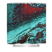 Heart Of The Sea Shower Curtain