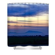 Heart Of The Valley Shower Curtain