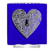 Heart Shaped Lock .png Shower Curtain