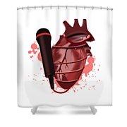 Heart Song1 Shower Curtain