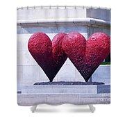 Heart To Heart Shower Curtain