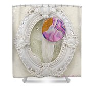 Heart-unicorn-artwork Shower Curtain