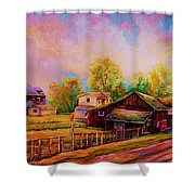 Hearth And Home Shower Curtain
