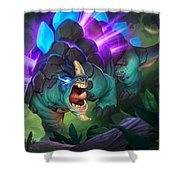 Hearthstone Heroes Of Warcraft Shower Curtain