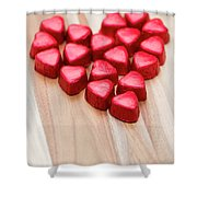 Hearty Heart Shower Curtain