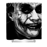 Heath Ledger Joker Shower Curtain