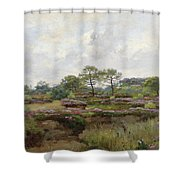 Heather Landscape Shower Curtain