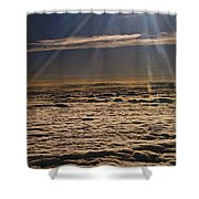 Heaven Above The Clouds Shower Curtain